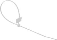 Стяжка для кабеля Rexant 07-0206 (100шт, белый) -