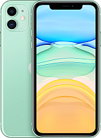 Смартфон Apple iPhone 11 64GB / MWLY2 (зеленый) -