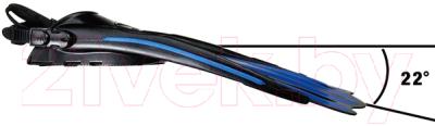 Ласты IST Sports FP01BK-XL (черный/серый)