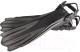 Ласты IST Sports FP01BK-XL (черный/серый) -