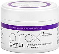 Глина для укладки волос Estel Airex с матовым эффектом пластичная фиксация (65мл) -