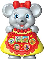 Интерактивная игрушка Азбукварик Любимая сказочка. Мышка-норушка / 4680019282398 -