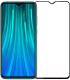 Защитное стекло для телефона Case Full Glue для Redmi Note 8 (черный) -