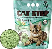 Наполнитель для туалета Cat Step Tofu Green Tea / 20333002 (6л) -