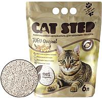 Наполнитель для туалета Cat Step Tofu Original / 20333001 (6л) -