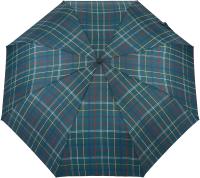 Зонт складной Ame Yoke AV 551СН-6 (зеленый/красный/желтый/клетка) -