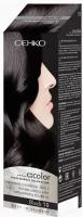 Крем-краска для волос C:EHKO C:Color 10 (черный) -