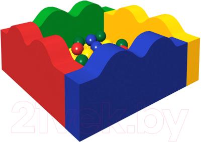 Игровой сухой бассейн Romana Волна ДМФ-МК-06.14.00 (300 шариков)