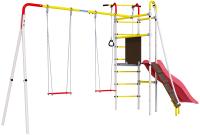 Игровой комплекс Romana Островок Плюс / R.103.09.04 (фанерные качели) -
