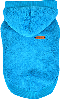 Толстовка для животных Puppia Willa с капюшоном / PATD-TS1756-AQ-XL (голубой) -