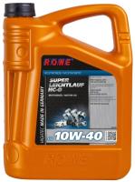 Моторное масло Rowe Hightec Super Leichtlauf HC-O SAE 10W40 / 20058-0050-03 (5л) -