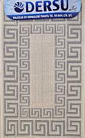 Коврик для ванной Dersu Cotton Bathmats PB019 (50x80, серый) -