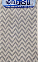 Коврик для ванной Dersu Cotton Bathmats PB022 (50x80, серый) -