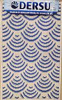 Коврик для ванной Dersu Cotton Bathmats PB033 (50x80, синий) -