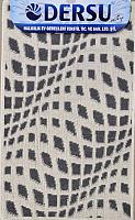 Коврик для ванной Dersu Cotton Bathmats PB037 (50x80, темно-серый) -