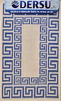 Коврик для ванной Dersu Cotton Bathmats PB019 (60x90, синий) -