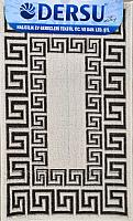 Коврик для ванной Dersu Cotton Bathmats PB019 (60x90, коричневый) -