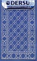 Коврик для ванной Dersu Cotton Bathmats PB013 (50x80, синий) -