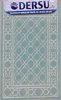 Коврик для ванной Dersu Cotton Bathmats PB013 (50x80, мятный) -