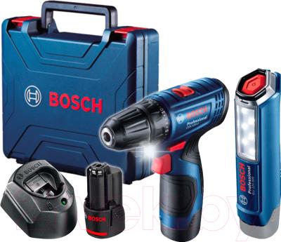 Профессиональный шуруповерт Bosch GSR 120-Li (0.601.9G8.004)