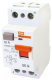Дифференциальный автомат TDM ВД1-63 2Р 16А 100мА / SQ0203-0001 -