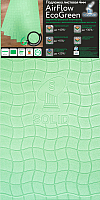 Подложка AirFlow EcoGreen 4мм (1000х500) -