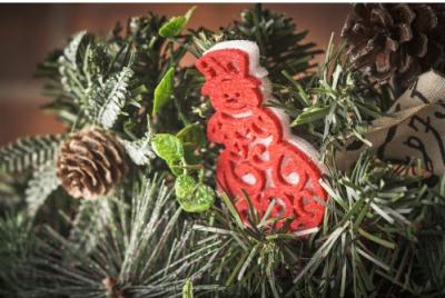 Гирлянда еловая Merry Bear E10-18A1511A-1