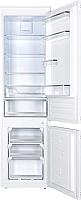 Встраиваемый холодильник Maunfeld MBF177NFFW -