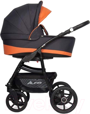 Детская универсальная коляска Riko Alfa Ecco 2 в 1