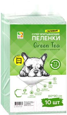 Одноразовая пеленка для животных Four Pets PFA104T-10UP (60x90см, 10шт)