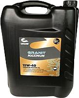 Моторное масло Cyclon Granit Maximum 15W40 / JT04504 (20л) -