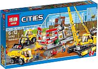 Конструктор Lepin City Снос здания / 02042 -