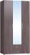 Шкаф Глазов Монако 444 (ясень анкор темный) -