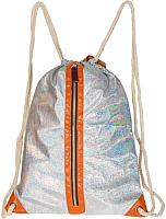 Детский рюкзак БЕЛОСНЕЖКА Miss Kiss / 705-MK (серебристый) -