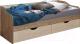 Кровать-тахта Лида-Stan СВ01-041 (сосна натуральная/сосна каньон) -