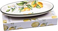 Блюдо Home Line Лимоны HC808R-Q51 -