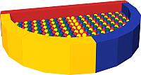 Игровой сухой бассейн Romana Ломтик ДМФ-МК-12.47.01 (300 шариков) -