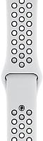 Ремешок для умных часов Apple Pure Platinum/Black Nike Sport Band 44mm / MX8F2 -