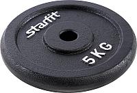 Диск для штанги Starfit BB-204 (5кг, черный) -