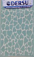 Коврик для ванной Dersu Cotton Bathmats PB043 (60x90, мятный) -