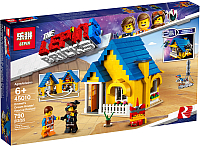 Конструктор Lepin Movie Blocks Дом мечты — Спасательная ракета Эммета / 45010 -
