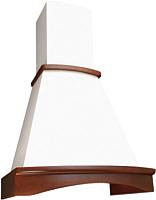 Вытяжка купольная Elikor Ротонда 60П-650-П3Л (бежевый/бук светло-коричневый) -