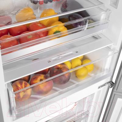 Холодильник с морозильником Maunfeld MFF 185NFBG