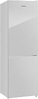 Холодильник с морозильником Maunfeld MFF 185NFS -