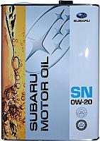 Моторное масло Subaru 0W20 / K0215Y0274 (4л) -