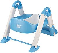 Детский горшок Roxy-Kids 3 в 1 / BPT-106B (голубой) -