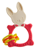 Прорезыватель для зубов Roxy-Kids RBT-001R (коралловый) -