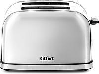Тостер Kitfort KT-2036-6 (серебристый) -