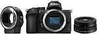 Беззеркальный фотоаппарат Nikon Z50 + Nikkor Z DX 16-50mm VR + FTZ -