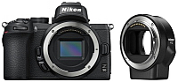 Беззеркальный фотоаппарат Nikon Z50 + FTZ Adapter Kit -